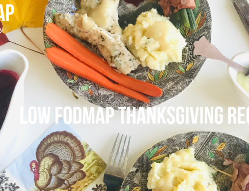 Low FODMAP Thanksgiving Recipes